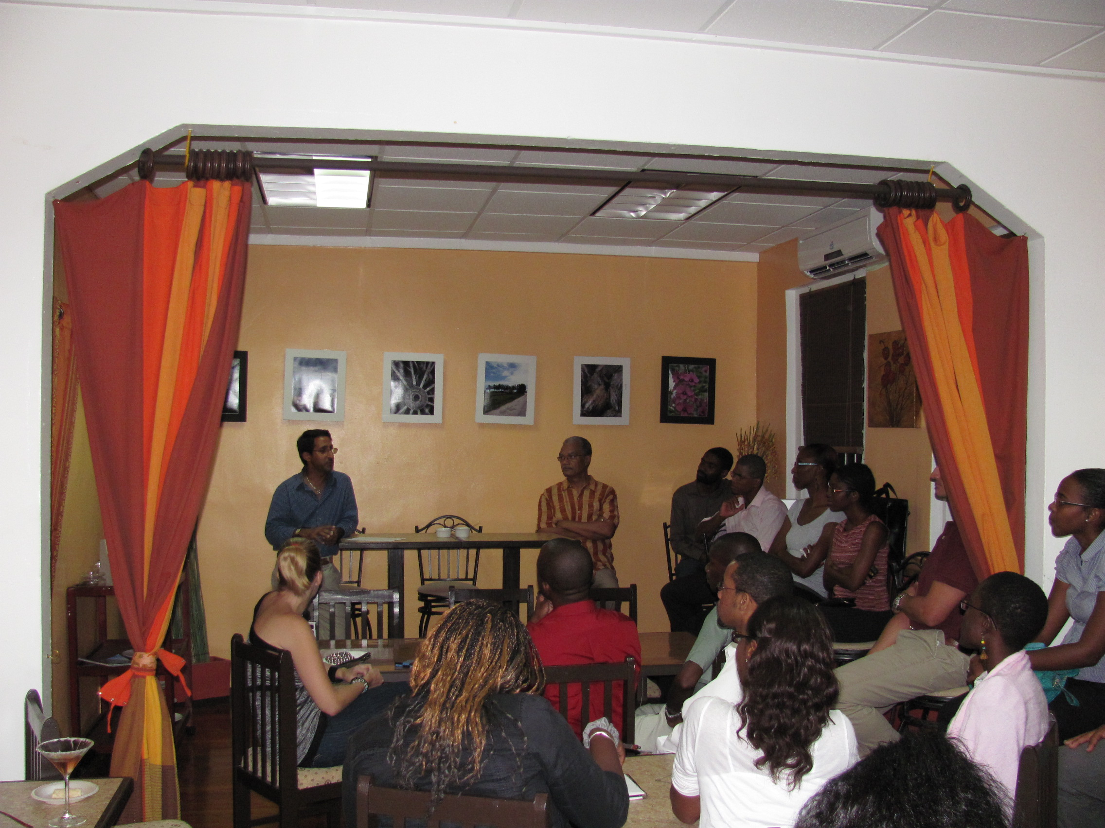Podcast : Raj Thani Shares His Experience Opening A TeaHouse In Barbados