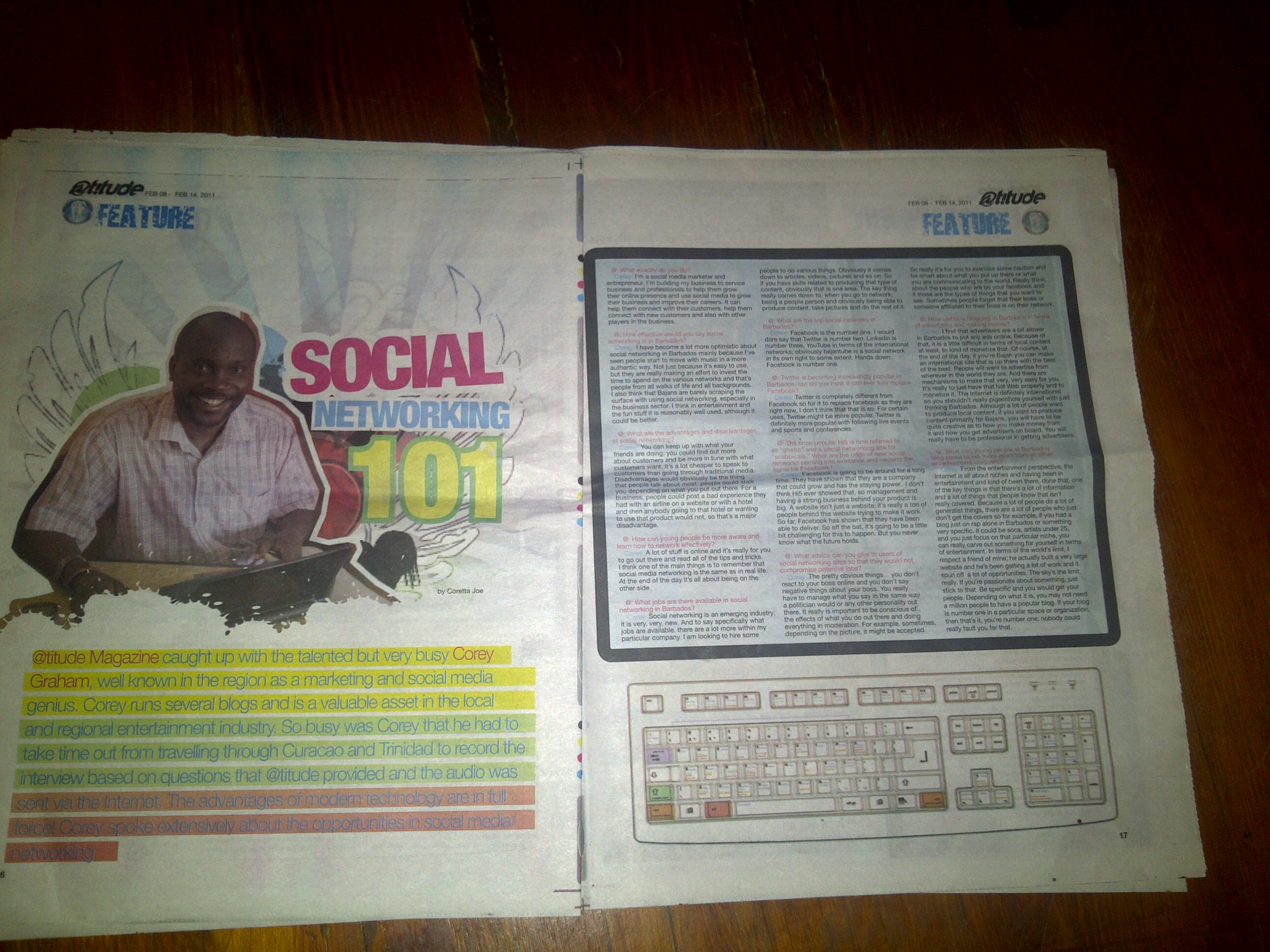 Featured In The Nation Newspaper's Youth Magazine